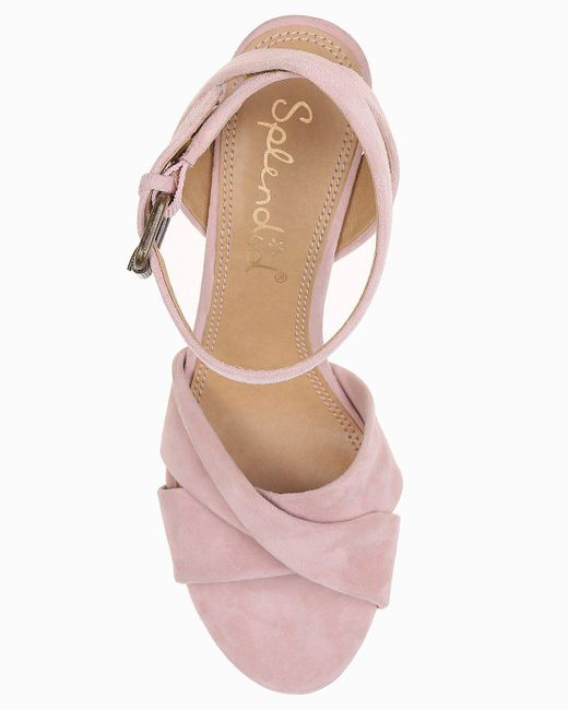 99c568ccac1 ... Splendid - Pink Fairy Knotted Sandal - Lyst