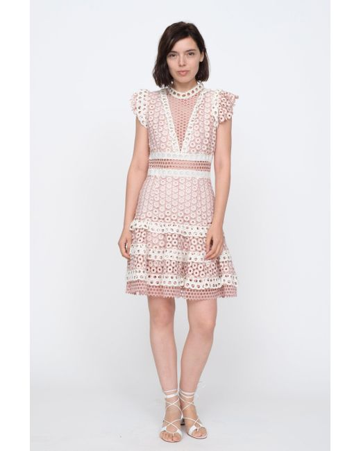 7b0cb900c29c3 Sea Josie Mini Dress in Pink - Save 59% - Lyst