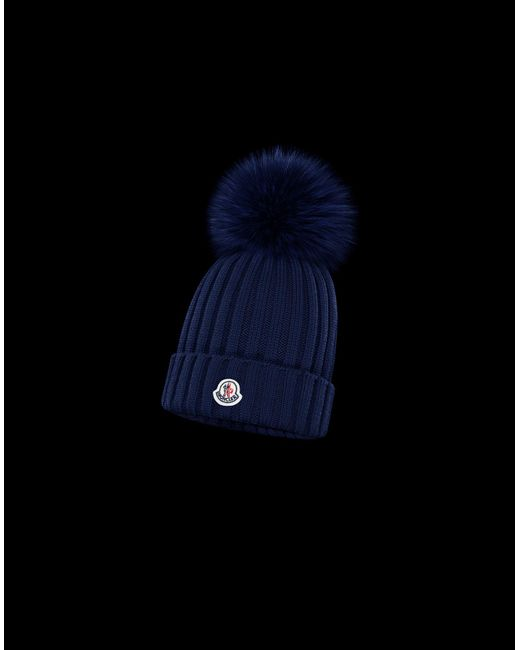 95ce1955597 Moncler - White Hat - Lyst ...