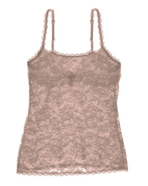 Cosabella - Brown Never Say Never Sassie Lace Camisole - Lyst