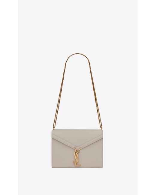 Saint Laurent Multicolor Cassandra Monogram Clasp Bag