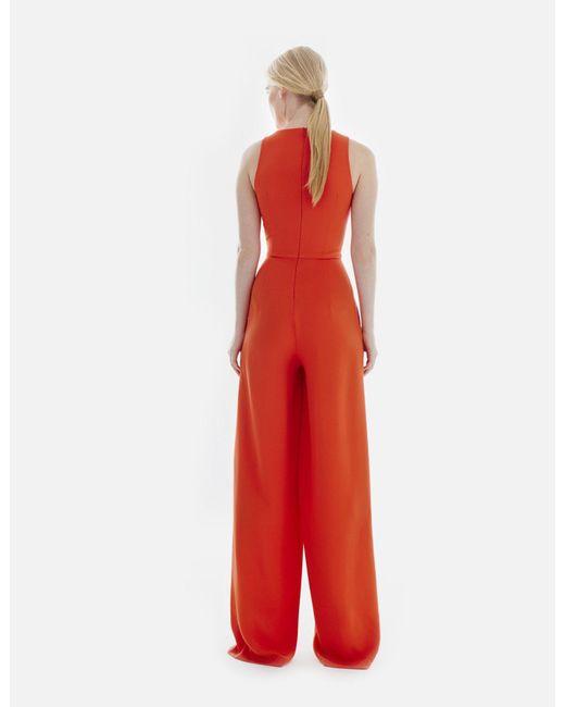 e0a828136e3 ... Novis - Red The Caprice Jumpsuit - Lyst