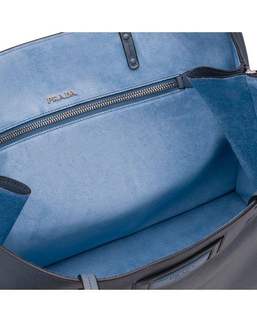 3794eda0aca1 ... Prada - Blue Etiquette Bag - Lyst ...