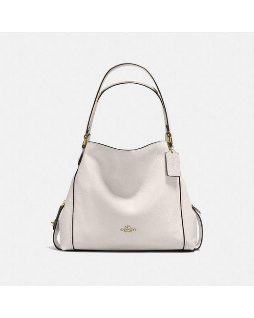 f0e25258df3a4 COACH - Multicolor Edie Shoulder Bag 31 - Lyst ...