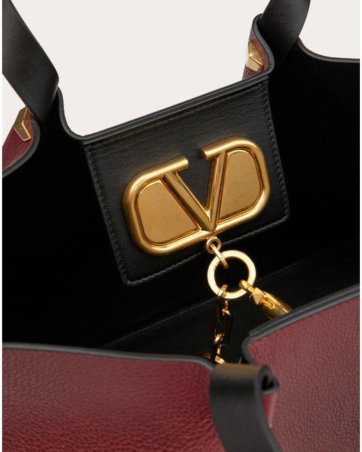 c9c743759d8 ... Valentino - Multicolor Medium Vlogo Escape Cowhide Shopper - Lyst ...