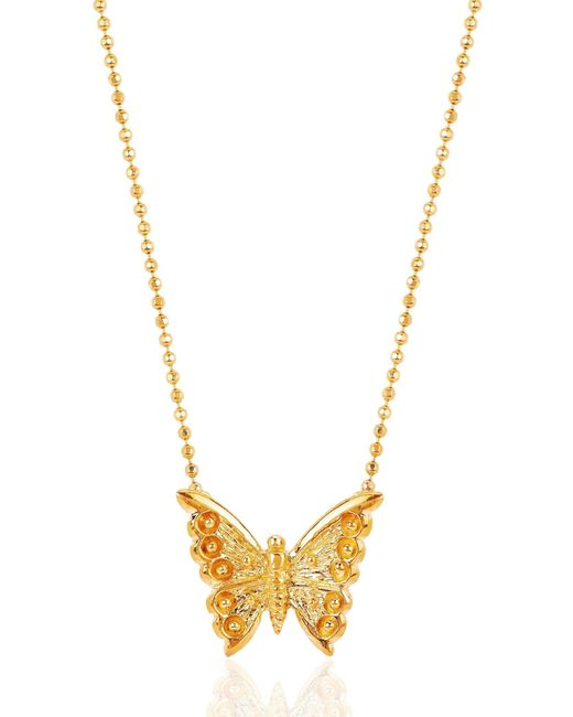 Johnny Was - Metallic Butterfly Necklace Md - Lyst