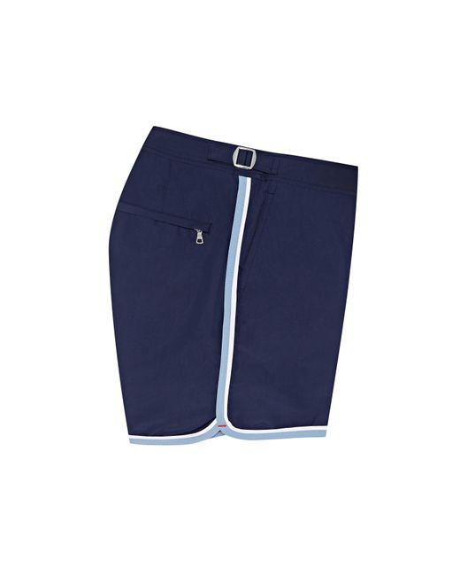 Orlebar Brown Men's Blue Navy/sea Breeze Shorter-length Swim Shorts