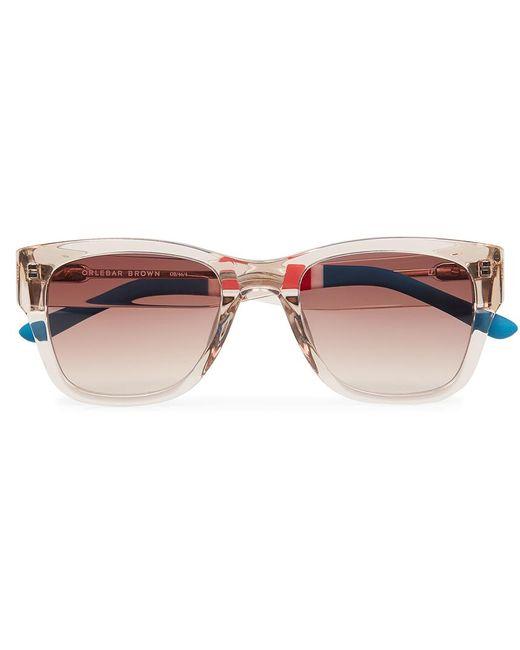 Orlebar Brown | Multicolor D-frame Sunglasses | Lyst