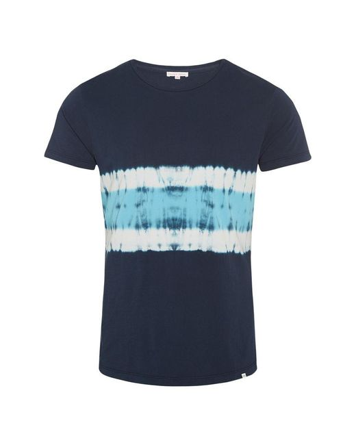 Orlebar Brown - Blue Ob-t T-shirt Mit Rundhalsausschnitt Und Körperbetonter Passform In Navy/azure for Men - Lyst