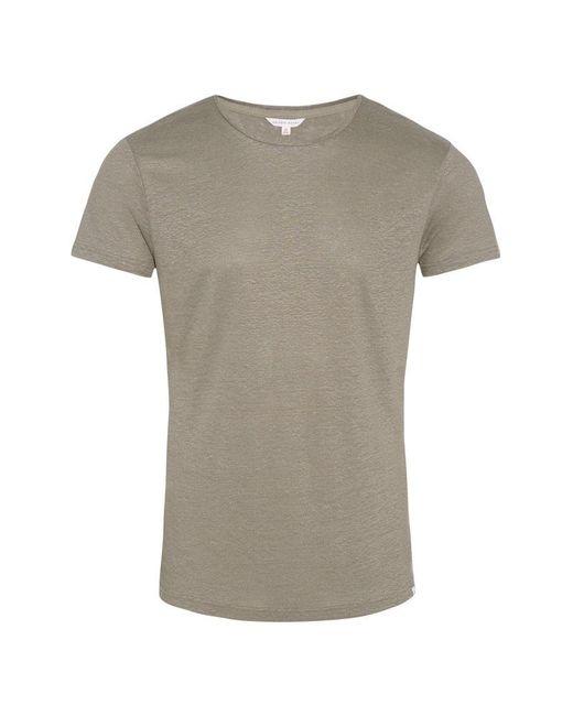 Orlebar Brown - Multicolor Ob-t Linen Storm Tailored-fit Linen Crew Neck T-shirt for Men - Lyst