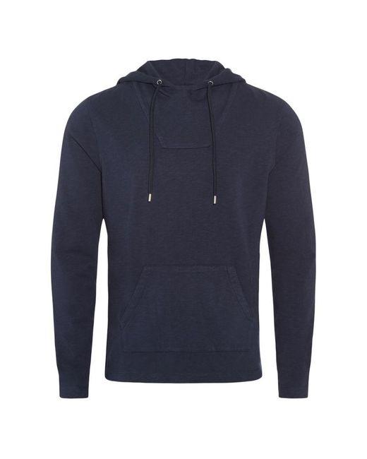 Orlebar Brown - Blue Karson Jersey Kapuzen-sweatshirt Mit Klassischer Passform In Navy for Men - Lyst