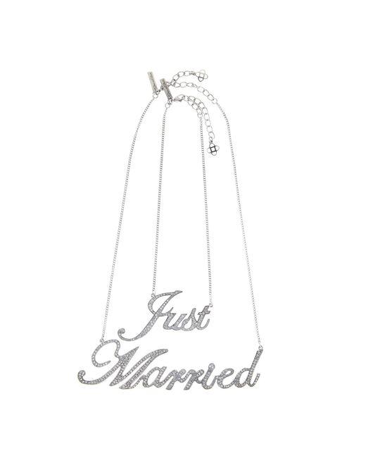 Oscar de la Renta - Multicolor Just Married Necklace - Lyst