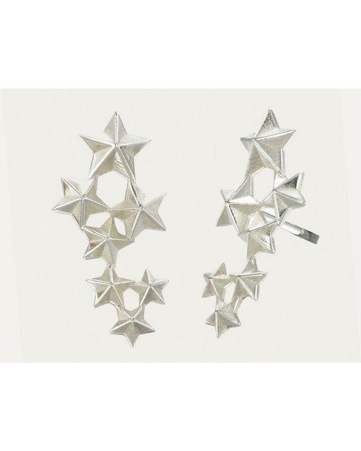 Zoe & Morgan | Metallic Seven Sisters Earrings | Lyst