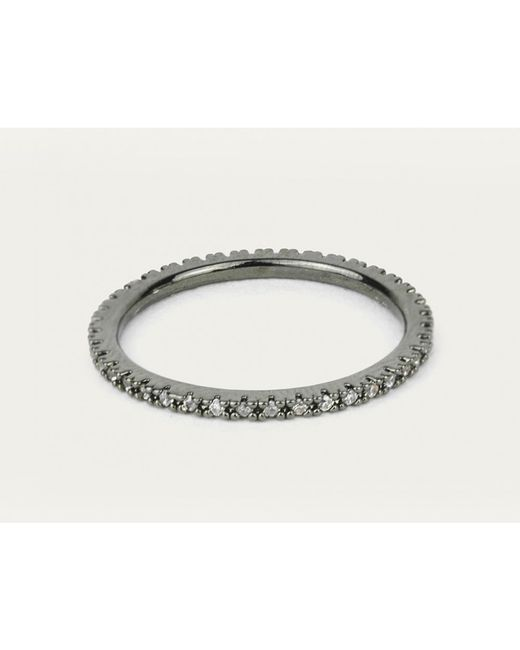 Astrid & Miyu | Metallic The Perfect One Ring In Gunmetal | Lyst