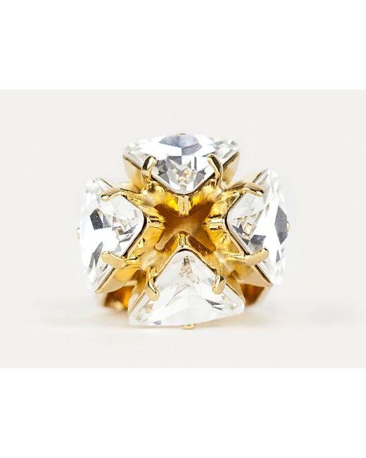 Sabrina Dehoff | Metallic Bowtie Ring | Lyst