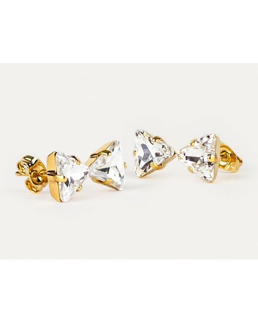 Sabrina Dehoff | Metallic Bowtie Earrings | Lyst