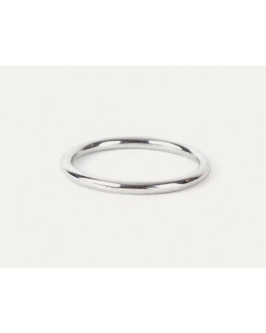 Grace Lee | Uniform Ring In White Gold | Lyst