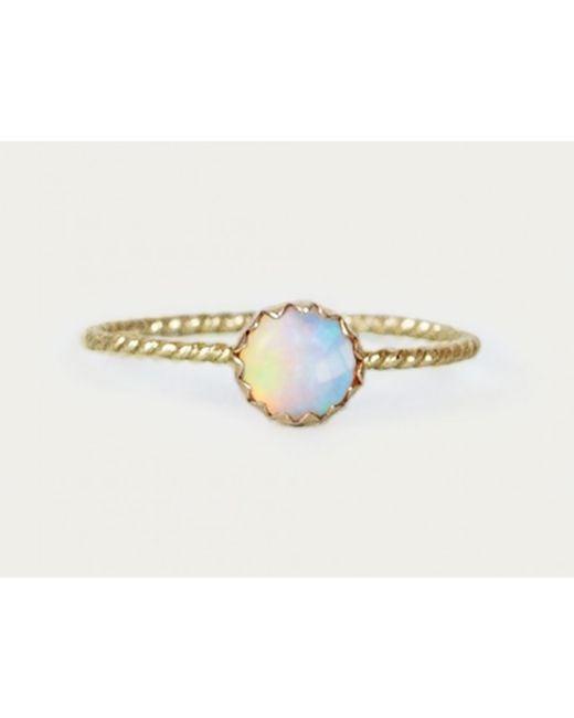 Lumo | Metallic Opal Ring | Lyst