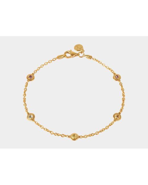 Davina Combe | Metallic Sienna Multi-stone Bracelet | Lyst