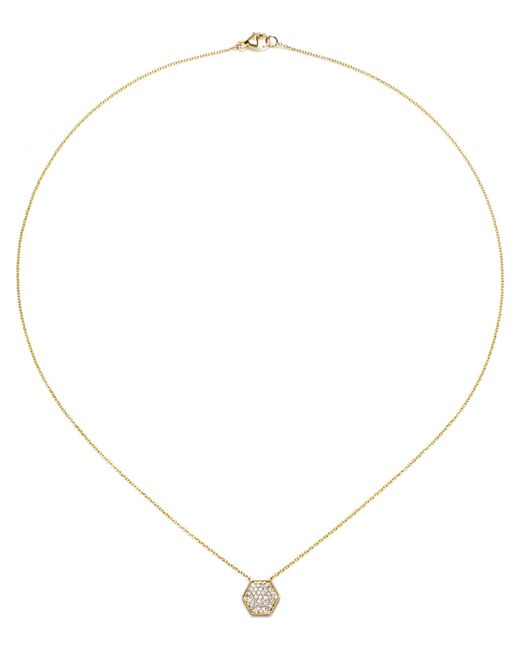 Dana Rebecca | Yellow Jen Hexagon Necklace | Lyst