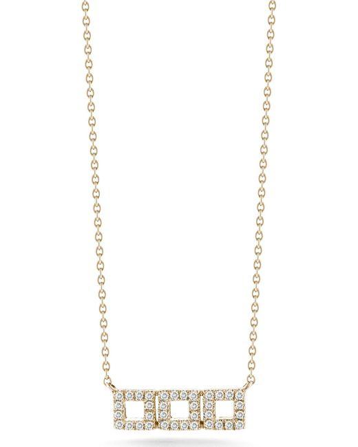 Dana Rebecca | Pink Allison Joy Diamond Necklace | Lyst