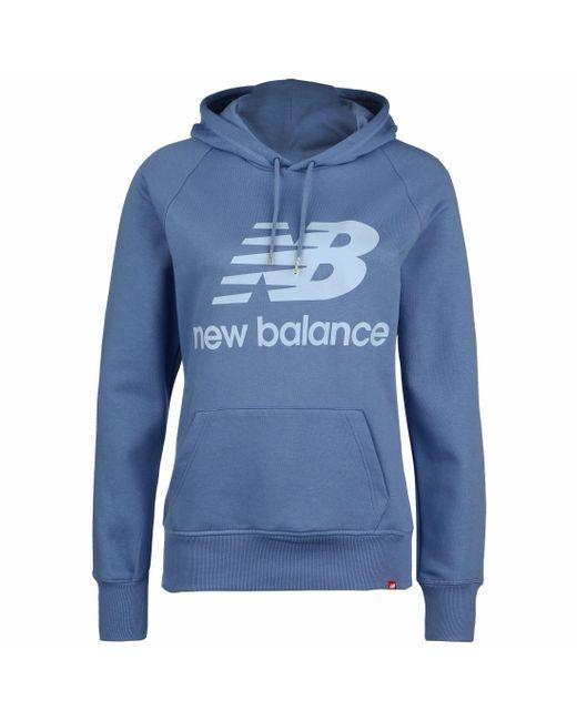 New Balance Blue Kapuzenpullover