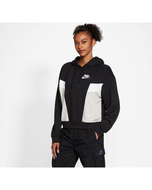 Nike Black Kapuzensweatshirt
