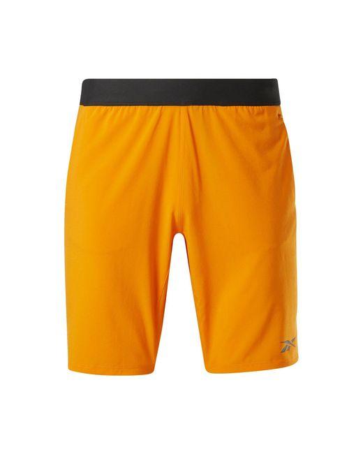 Reebok Shorts »Speedwick Speed Shorts« in Orange für Herren
