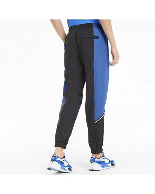 PUMA Jogginghose »Tailored for Sport Herren Gewebte Trainingshose« in Blue für Herren