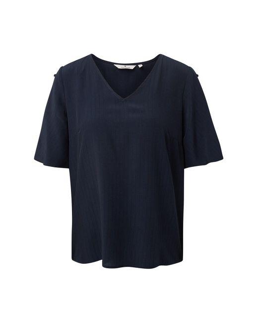 Tom Tailor Blue Shirtbluse