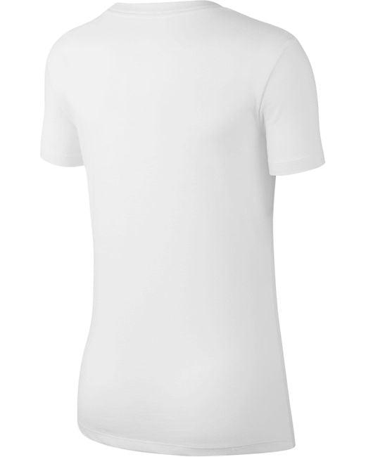Nike White T-Shirt »WOMAN`S TEE PREP JUST DO IT«