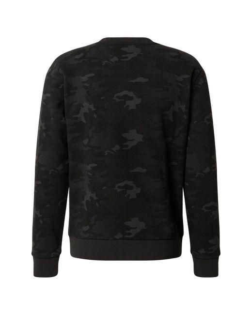 Replay Sweatshirt in Black für Herren