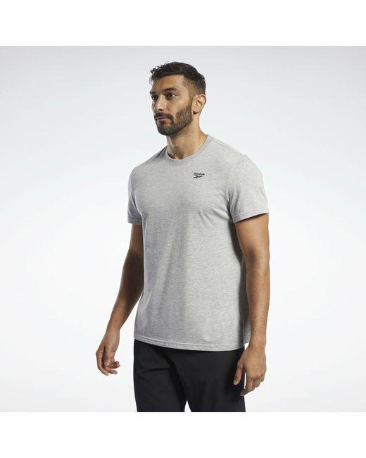 Reebok T-Shirt in Gray für Herren
