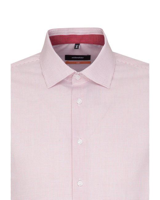 Seidensticker Businesshemd in Red für Herren