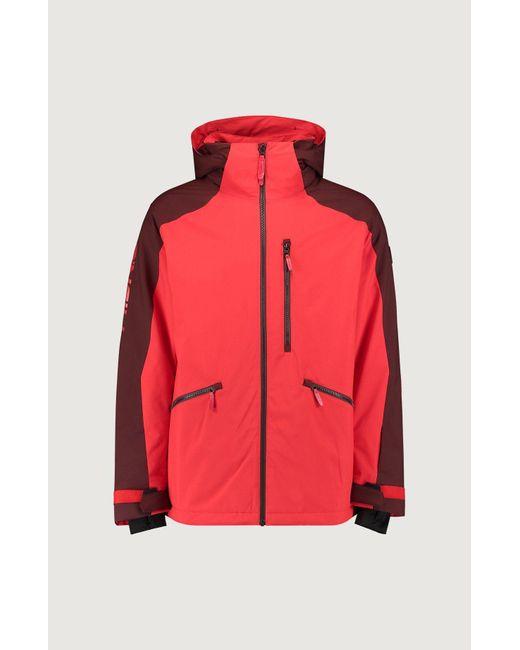 O'neill Sportswear Skijacke in Red für Herren