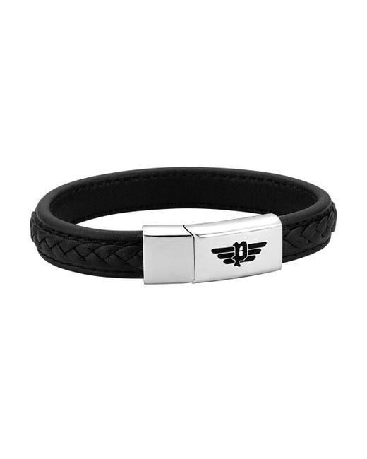 Police Armband »ANNANDALE, PJ26268BLB.01-L« in Black für Herren