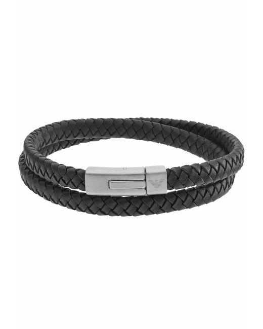 Emporio Armani Armband »EGS2176040« in Black für Herren