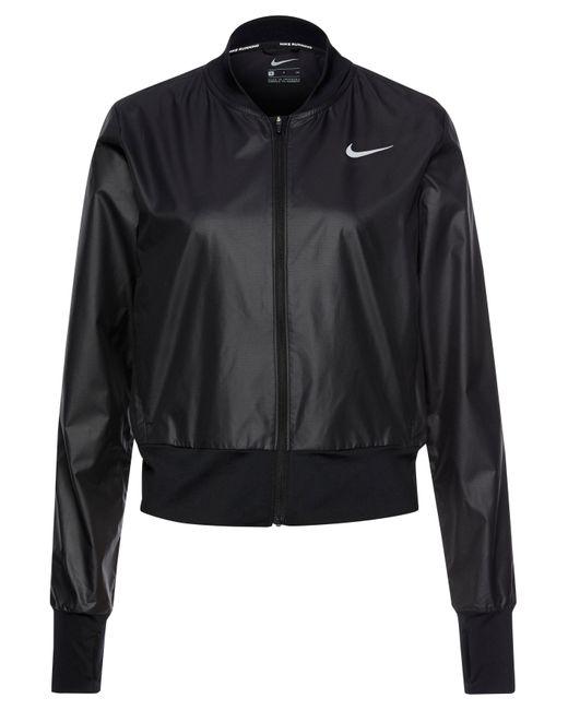 Nike Black Laufjacke