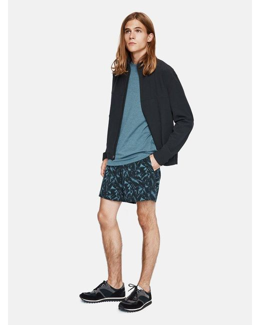 Outdoor Voices | Blue Printed Runner's High Shorts for Men | Lyst