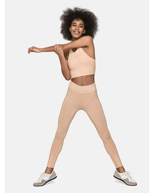 Outdoor Voices | Natural Tech Sweat 3/4 Legging | Lyst
