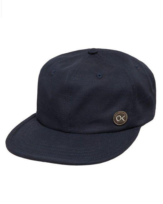 Outerknown Blue Ok Crushable Cap for men