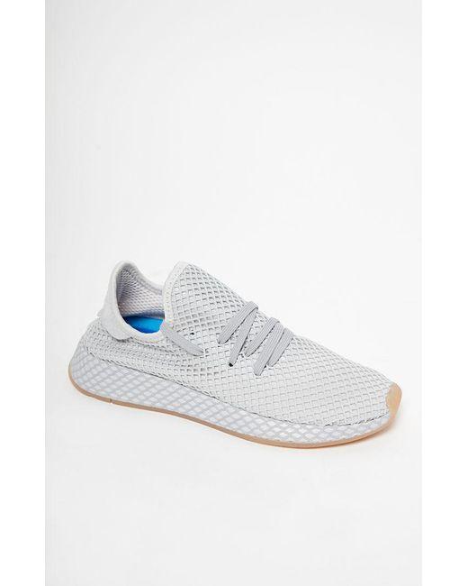 bd929f7eec0e5 Adidas - Gray Deerupt Runner Shoes for Men - Lyst ...