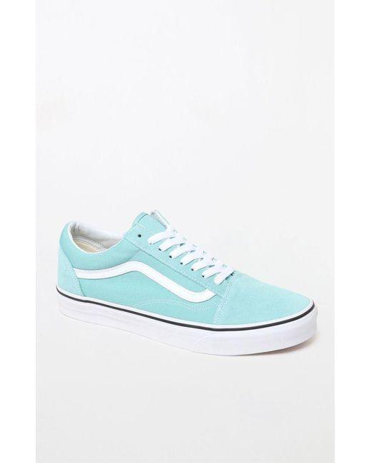 0ec195a35fe164 Vans - Blue Aqua Old Skool Shoes for Men - Lyst ...