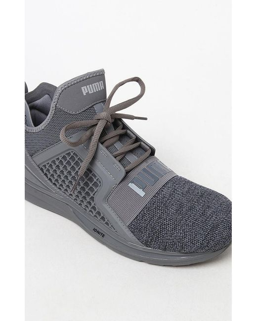 newest 7ce45 5098f Men's Ignite Limitless Knit Gray Shoes