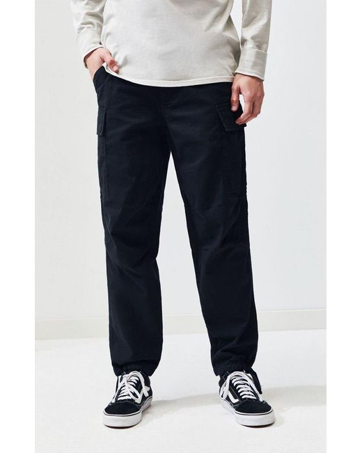 running shoes select for clearance outlet Men's Baggy Cargo Chino Black Pants