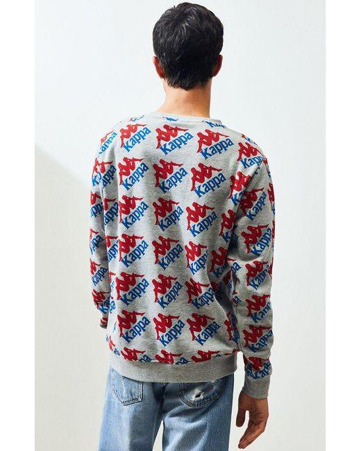 Kappa Mens Cremone Sweater Jumper Pullover Football Long Sleeve Crew Neck