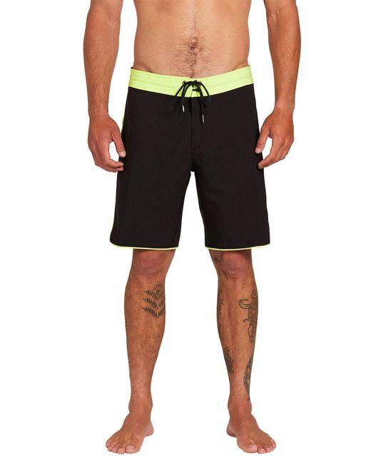 "Volcom Green Barnacle Stoneys 19"" Boardshorts for men"