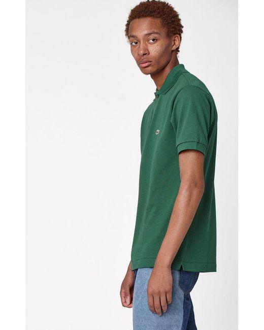e12ef8d4 ... Lacoste - Green Classic Pique Polo Shirt for Men - Lyst ...