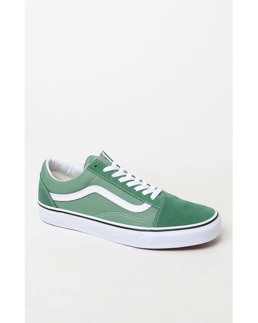 378ce3dc6f Lyst - Vans Old Skool In Deep Grass in Green for Men - Save 35%