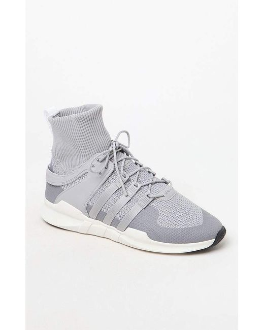 online store f02bb c991f Men's Gray Eqt Support Adv Winter Shoes